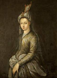 Titian Portrait of Princess Mihrimah Sultan