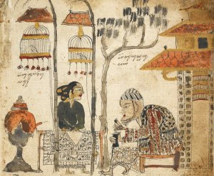 Image from The Serat Damar Wulan (British Library MSS.Jav.89)